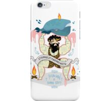 strongest man on earth  iPhone Case/Skin