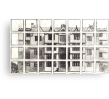 Fragmented Architecture Metal Print