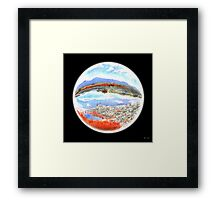 Landscape in a Ball Framed Print