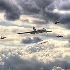 Avro Vulcan And The Gnat Display Team Dunsfold 2014 - HDR by Colin J Williams Photography