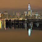 View of Manhattan from Pier A Hoboken NJ ! by pmarella