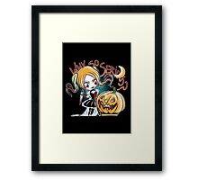 Hey Pumpkin Framed Print