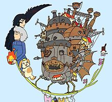 Howl's Moving Castle by Steph Hodges