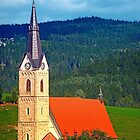 The village church of Reichenau I | architectural photography by Patrick Jobst