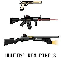 PIXEL HUNTING by tobehfaic