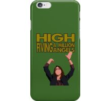Liz Lemon - High fiving a million angels iPhone Case/Skin