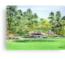 Augusta National Golf Course Canvas Print
