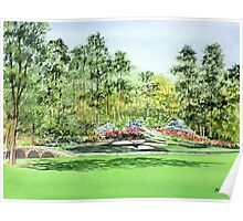 Augusta National Golf Course Poster
