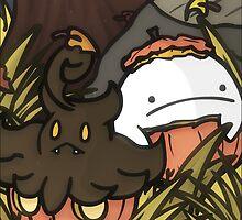 Pumpkin Pals by PeekingBoo