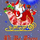 I'll Be There Christmas card by Dennis Melling