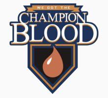 Champion Blood Shirt (Clean) Kids Clothes