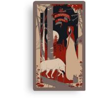 Le Chaperon Rouge Canvas Print