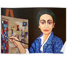 Maria Helena Vieira da Silva painting Poster