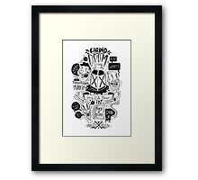 Liquid Doom Framed Print