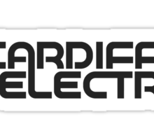 CARDIFF ELECTRIC GREY Sticker