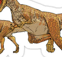 Social Networking: The Real Cause Of Dinosaur Extinction Sticker