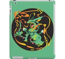 Delta Dragon Circle iPad Case/Skin