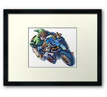 Link MK8 Framed Print