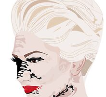 Melted Gwen Stefani by Kenzielupin