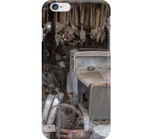Hupmobile in Garage - Toppenish WA iPhone Case/Skin