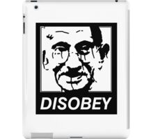 Gandhi DISOBEY iPad Case/Skin