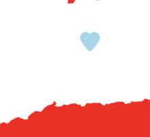 Connecticut Love Sticker