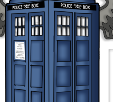 The Angels Have the Phone Box - Doctor Who Sticker