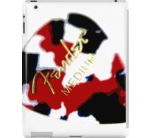 Fender plectrum iPad Case/Skin