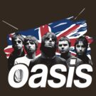 Oasis United Kingdom Flag T-Shirt / Phone / Pillow by Fenx