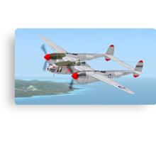 "Richard Bong's P-38 Lightning ""Marge"" Canvas Print"