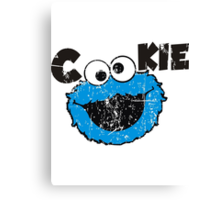 Cookie Canvas Print
