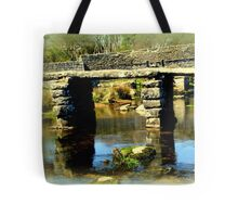 Clapper Bridge Tote Bag