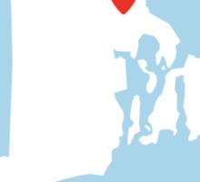 Rhode Island Love Sticker
