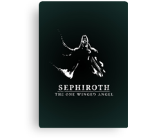 Sephiroth - The One Winged Angel Canvas Print