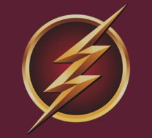 the flash tv symbol by jerrybenjamin