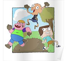 Mud Fight!  Poster