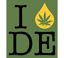 I Dab DE (Delaware) Photographic Print
