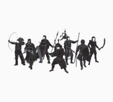 Warriors by satorenalin