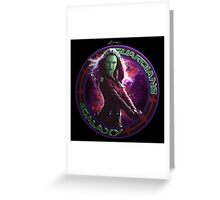 Gamora - Guardians Of The Galaxy Greeting Card