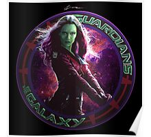 Gamora - Guardians Of The Galaxy Poster