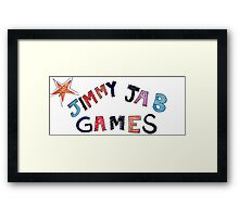 Jimmy Jab Games - Brooklyn Nine Nine Framed Print