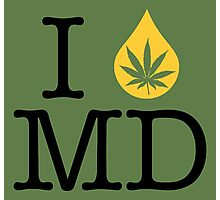 I Dab MD (Maryland) Photographic Print