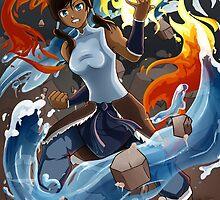 Avatar Korra by Kiiyame