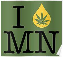 I Dab MN (Minnesota) Poster