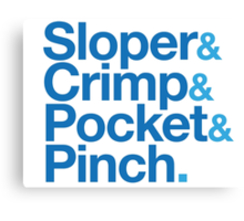 Sloper & Crimp & Pocket & Pinch Canvas Print