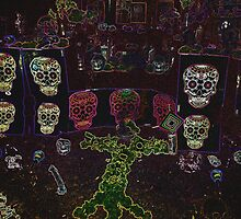 Altar El Dia De Los Muertos by jasonlee3071