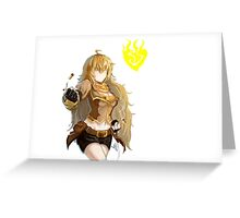 Yang Xiao Long Greeting Card