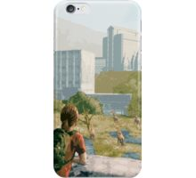 The Last of Us - Can't Deny the View iPhone Case/Skin