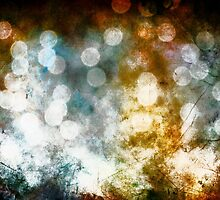Bokeh Fae Fairy Lights Surreal Fantasy Abstract  by Melissa Bittinger