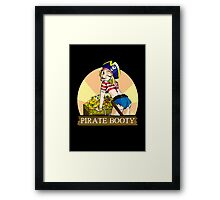 Pirate Booty Framed Print